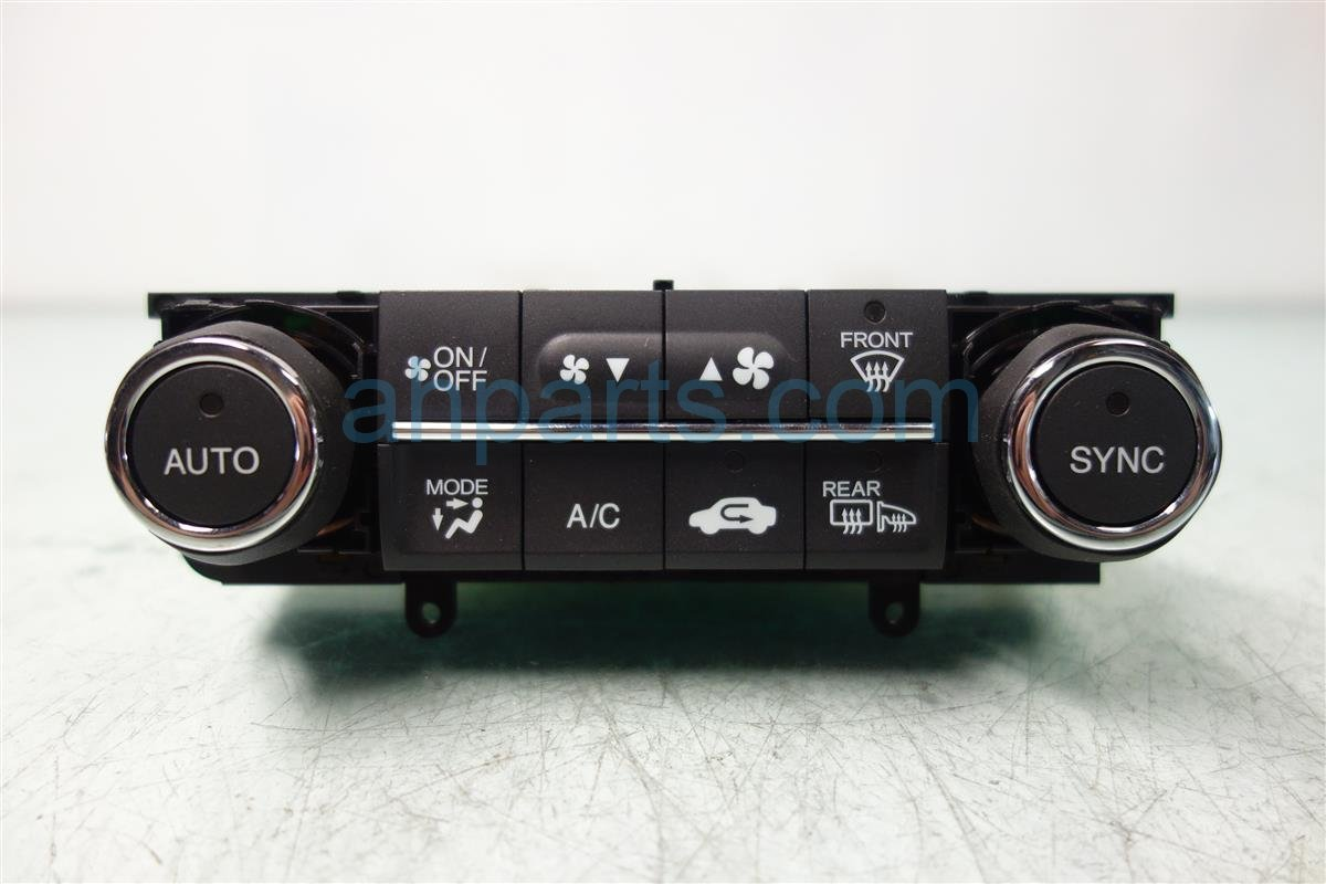 2013 Acura ILX Temperature Climate HEATER AC CONTROL ON DASH 79607 TX6 A41ZA 79607TX6A41ZA Replacement