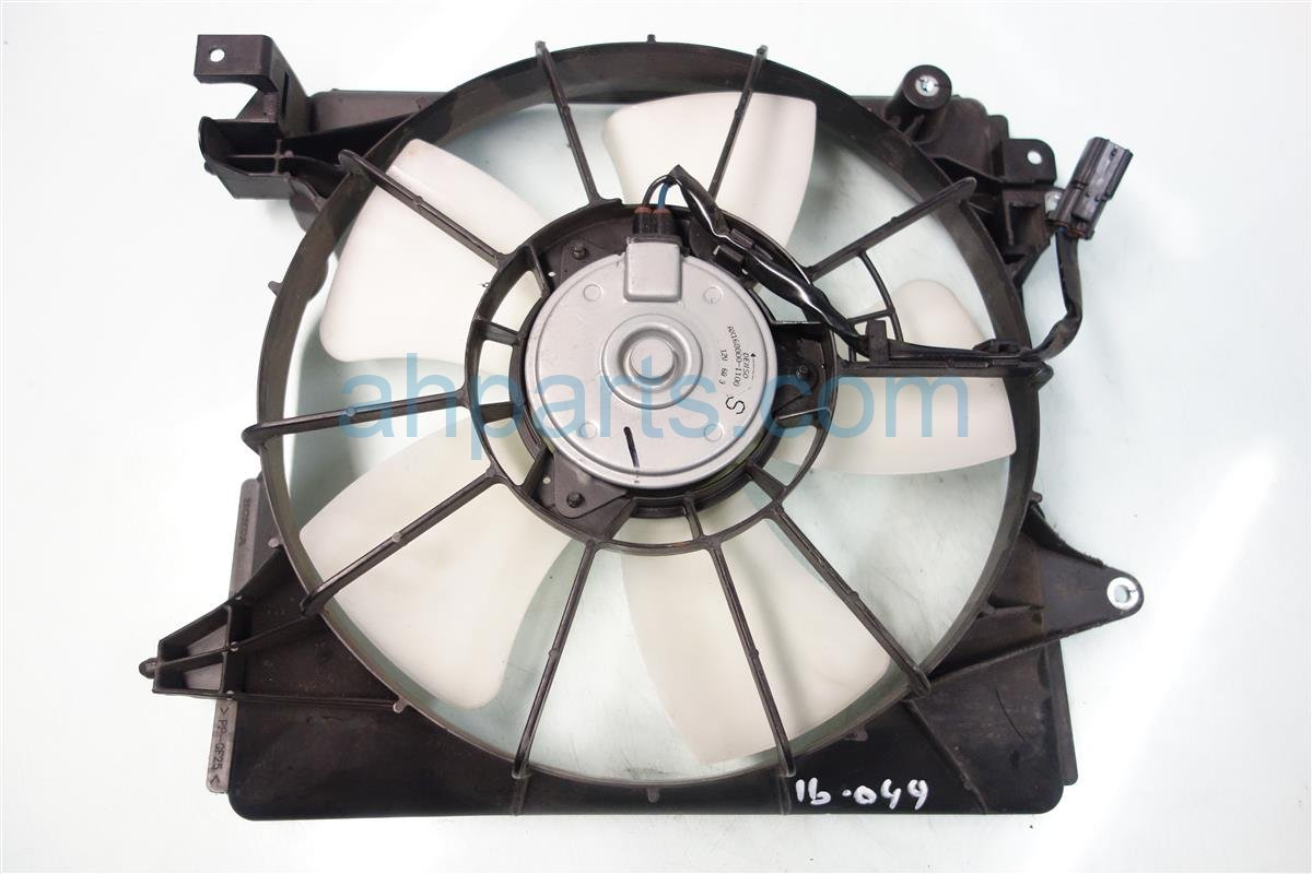 2013 Honda Civic Cooling AC CONDENSER FAN ASSEMBLY 19030 RSJ E01 19030RSJE01 Replacement