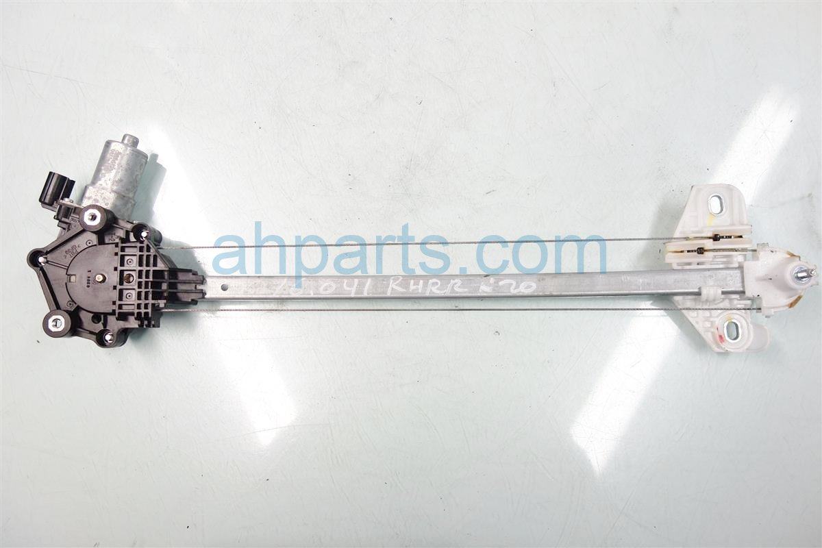 2014 Honda Accord Window REAR RIGHT DOOR REGULATOR 72710 T2A A02 72710T2AA02 Replacement
