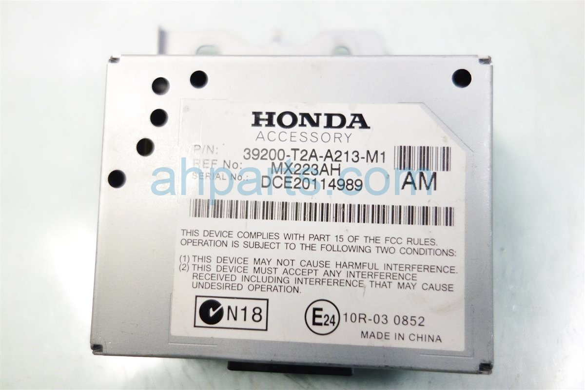 2013 Honda Accord ACTIVE NOISE CONTROL UNIT 39200 T2A A21 39200T2AA21 Replacement
