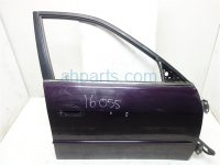 1999 Honda Accord Front passenger DOOR PURPLE HAS 2 DINGS 32752 S84 A40 32752S84A40 Replacement
