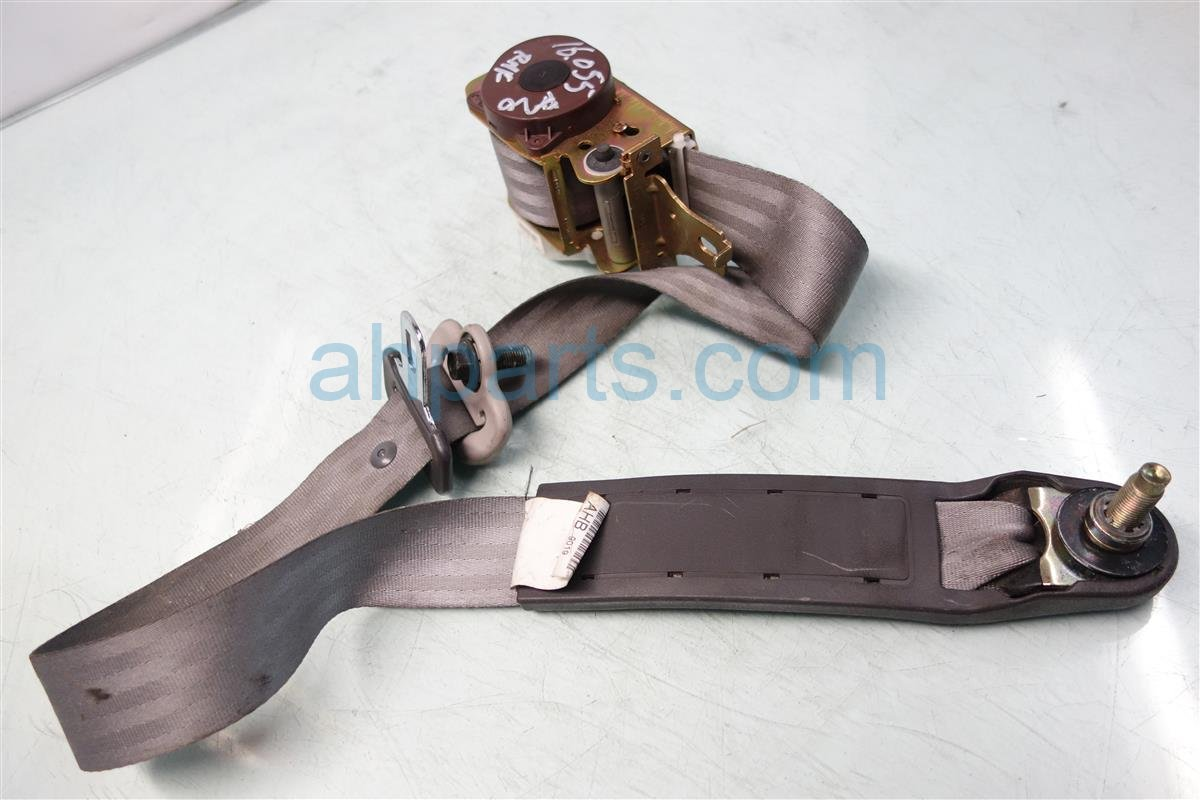 1999 Honda Accord Front passenger SEAT BELT GRAY 04813 S84 A02ZB 04813S84A02ZB Replacement