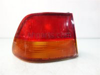 1997 Honda Civic Rear Driver TAIL LAMP LIGHT ON BODY 33551 S02 A01 33551S02A01 Replacement