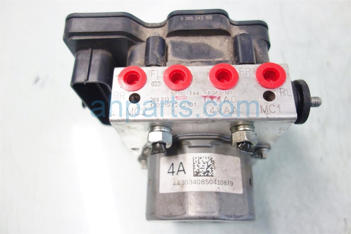 2013 Acura RDX anti lock brake ABS VSA PUMP MODULATOR 57111 TX4 A03 57111TX4A03 Replacement