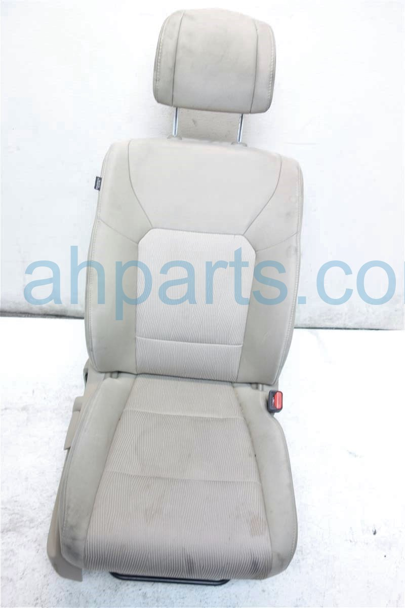 2009 Honda Pilot Front passenger SEAT TAN CLOTH Replacement