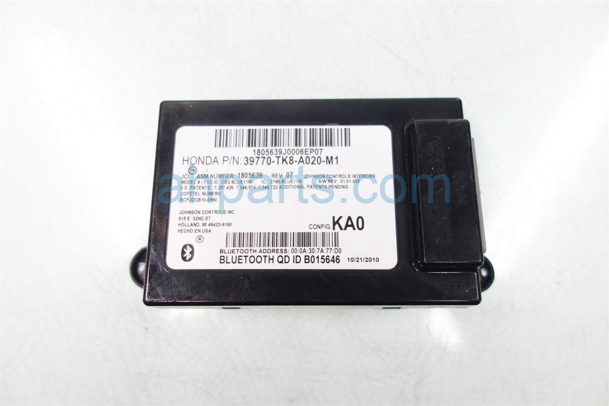 2011 Honda Odyssey HFTBLUETOOTH MODULE 39770 TK8 A02 39770TK8A02 Replacement