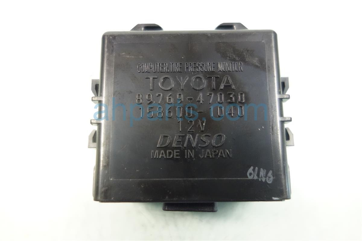 2011 Toyota Prius TPMS UNIT 89769 47030 Replacement