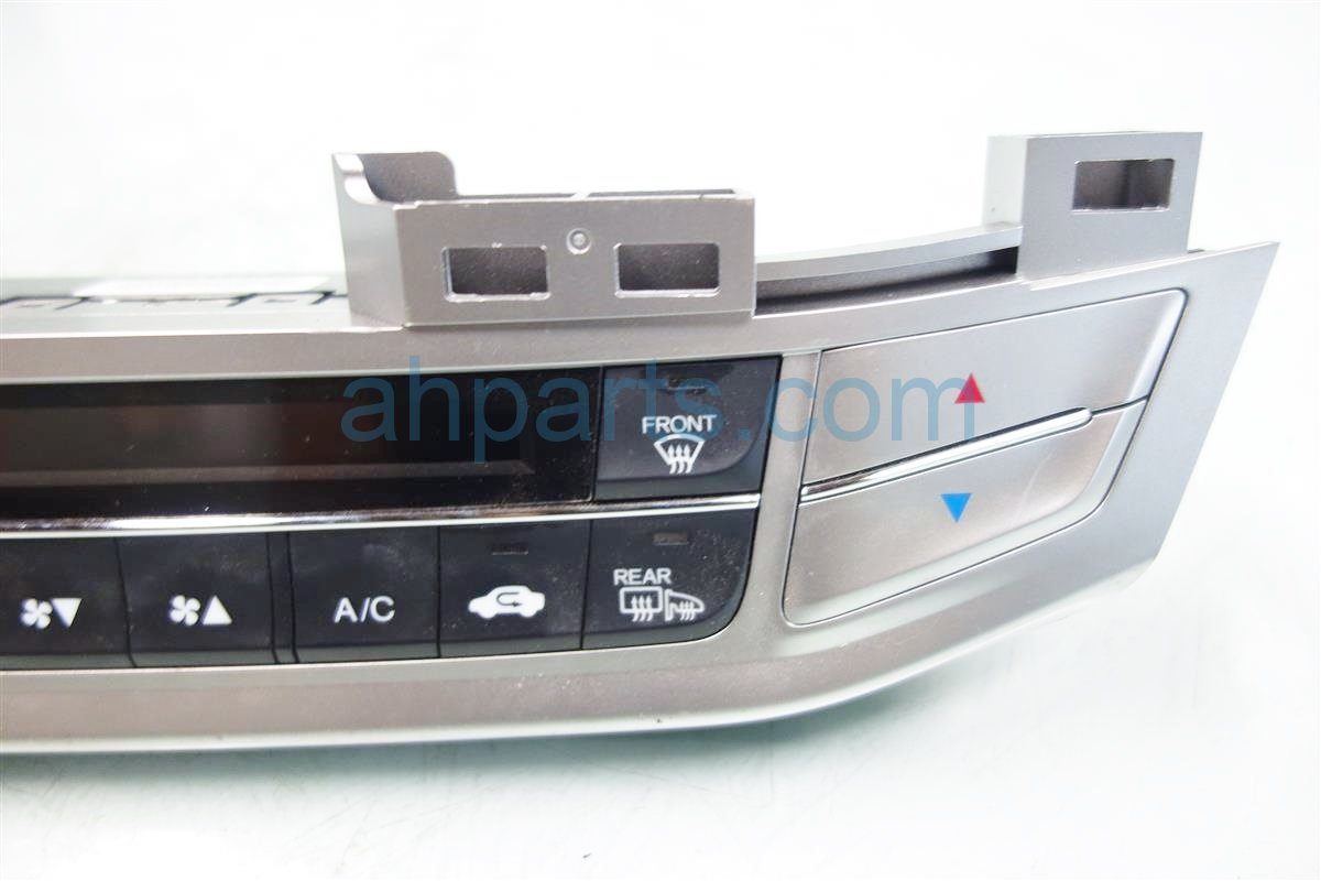 2014 Honda Accord Temperature Climate HEATER AC CONTROL ON DASH 79600 T2F A41ZB 79600T2FA41ZB Replacement
