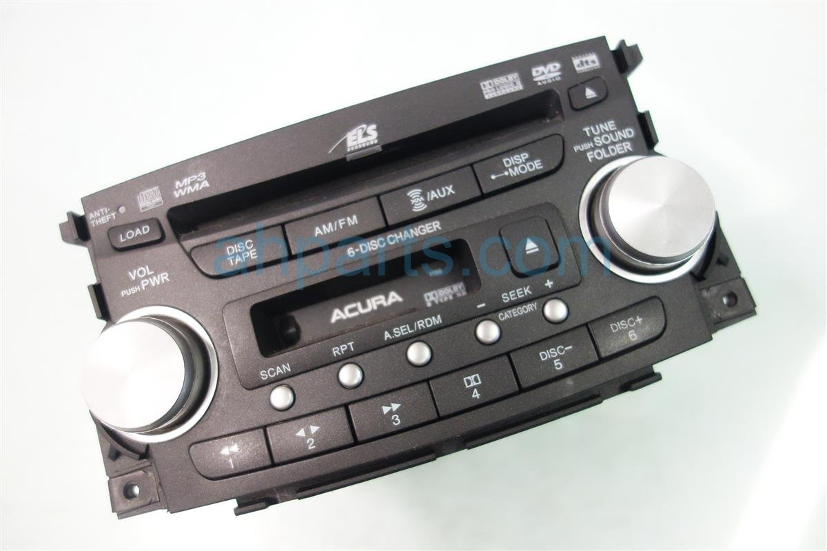 2007 Acura TL AM FM 6 DISC CD RADIO 39100 SEP A60ZA 39100SEPA60ZA Replacement