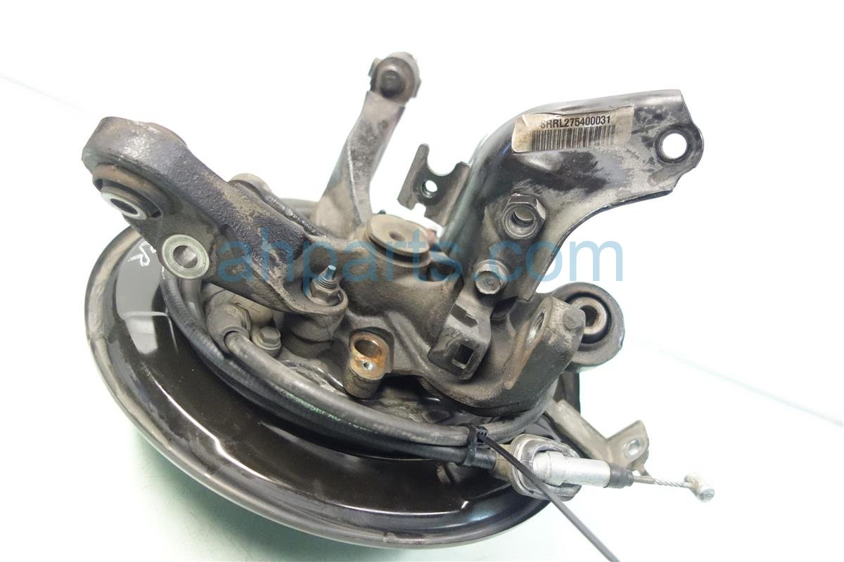 2007 Acura TL Axle stub Rear driver SPINDLE KNUCKLE 52210 SEP A10 DUST 52210SEPA10DUST Replacement