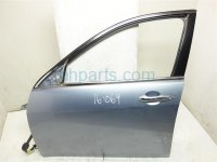 2006 Acura TSX Front driver DOOR SHELL LIGHT BLUE 67050 SEC A90ZZ 67050SECA90ZZ Replacement