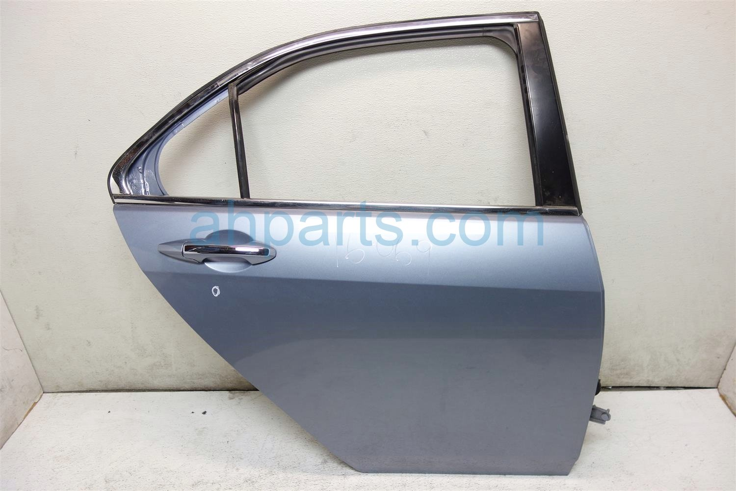 2006 Acura TSX Rear passenger DOOR SHELL LIGHT BLUE 1 DING 67510 SEC A90ZZ 67510SECA90ZZ Replacement