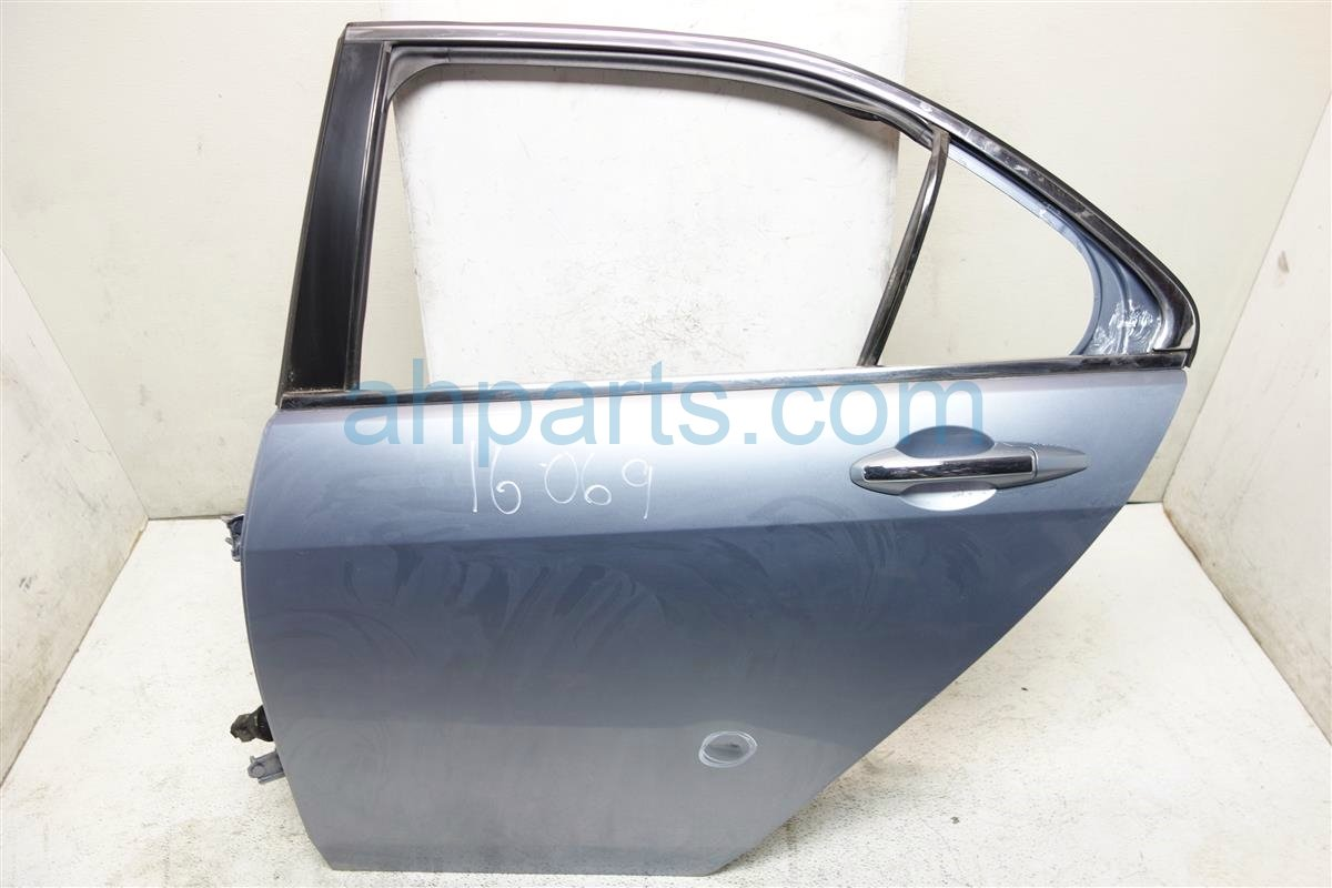 2006 Acura TSX Rear driver DOOR SHELL LIGHT BLUE 67550 SEC A90ZZ 67550SECA90ZZ Replacement