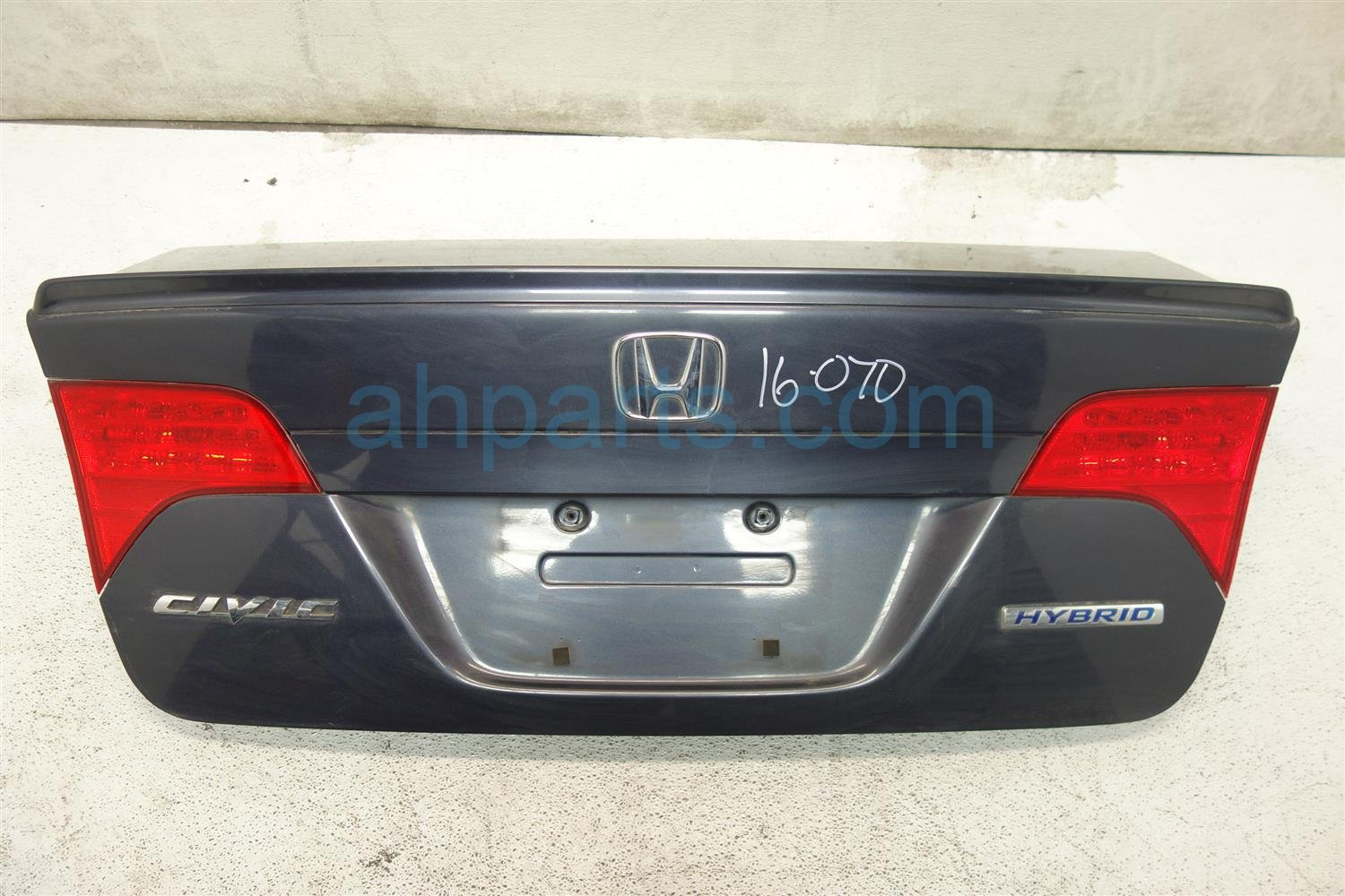 2008 Honda Civic DECK LID REAR TRUNK GRAY 68500 SNH C90ZZ 68500SNHC90ZZ Replacement
