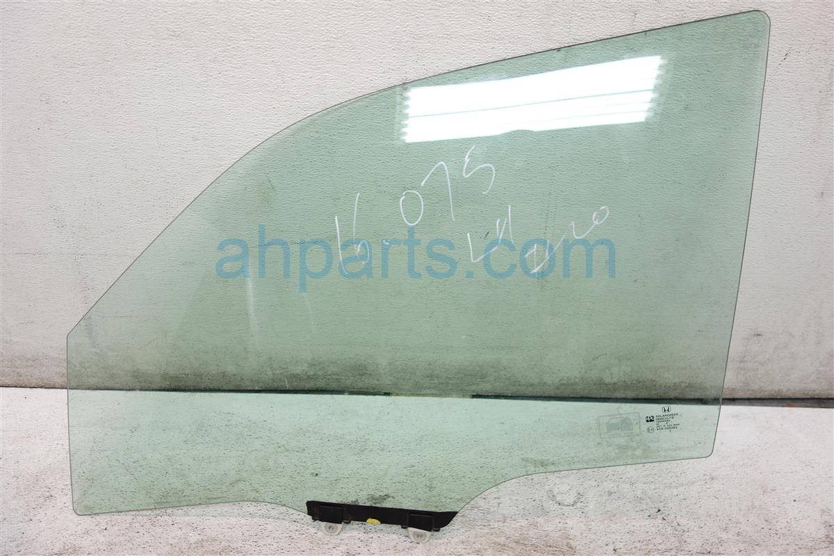 2009 Honda Pilot Front driver DOOR GLASS WINDOW 73350 SZA A00 73350SZAA00 Replacement