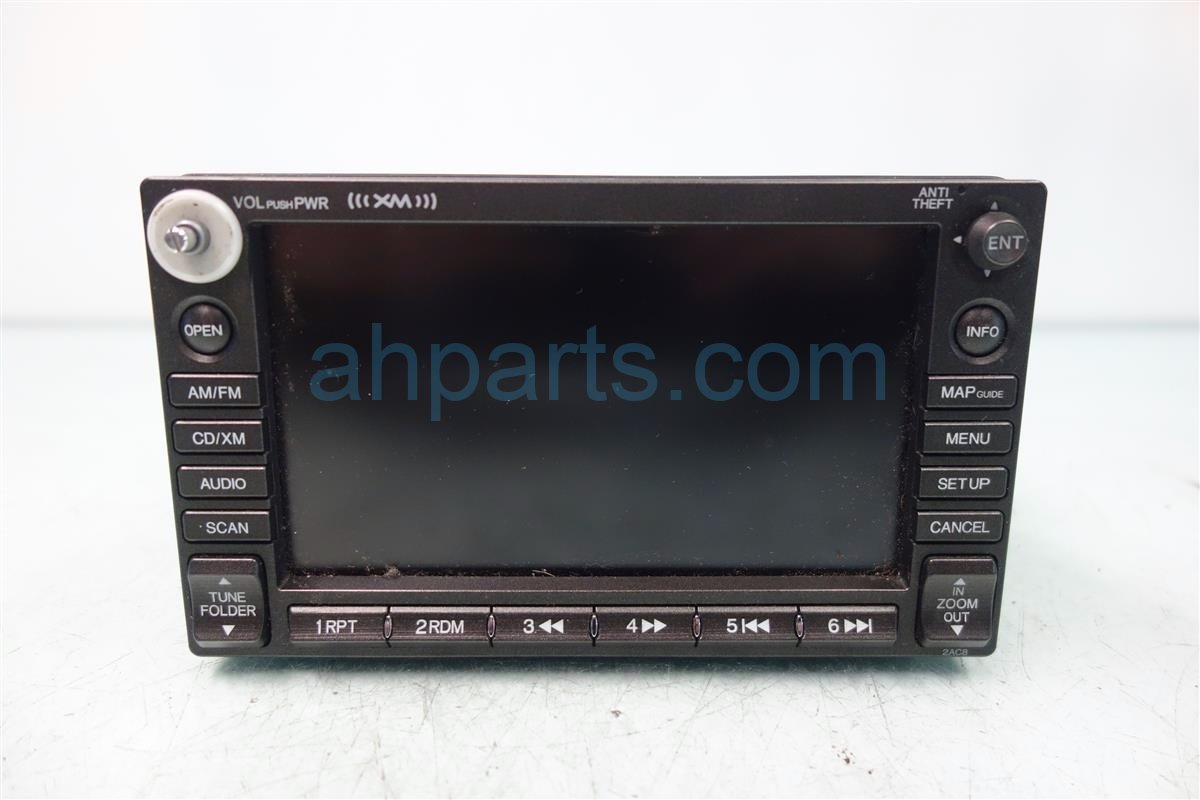 2007 Honda Civic NAVIGATION SCREEN PLAYER 39541 SNA A21 39541SNAA21 Replacement