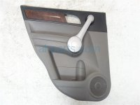 2007 Honda CR V Rear driver DOOR PANEL TRIM LINER gray 83751 SWA A01ZA 83751SWAA01ZA Replacement