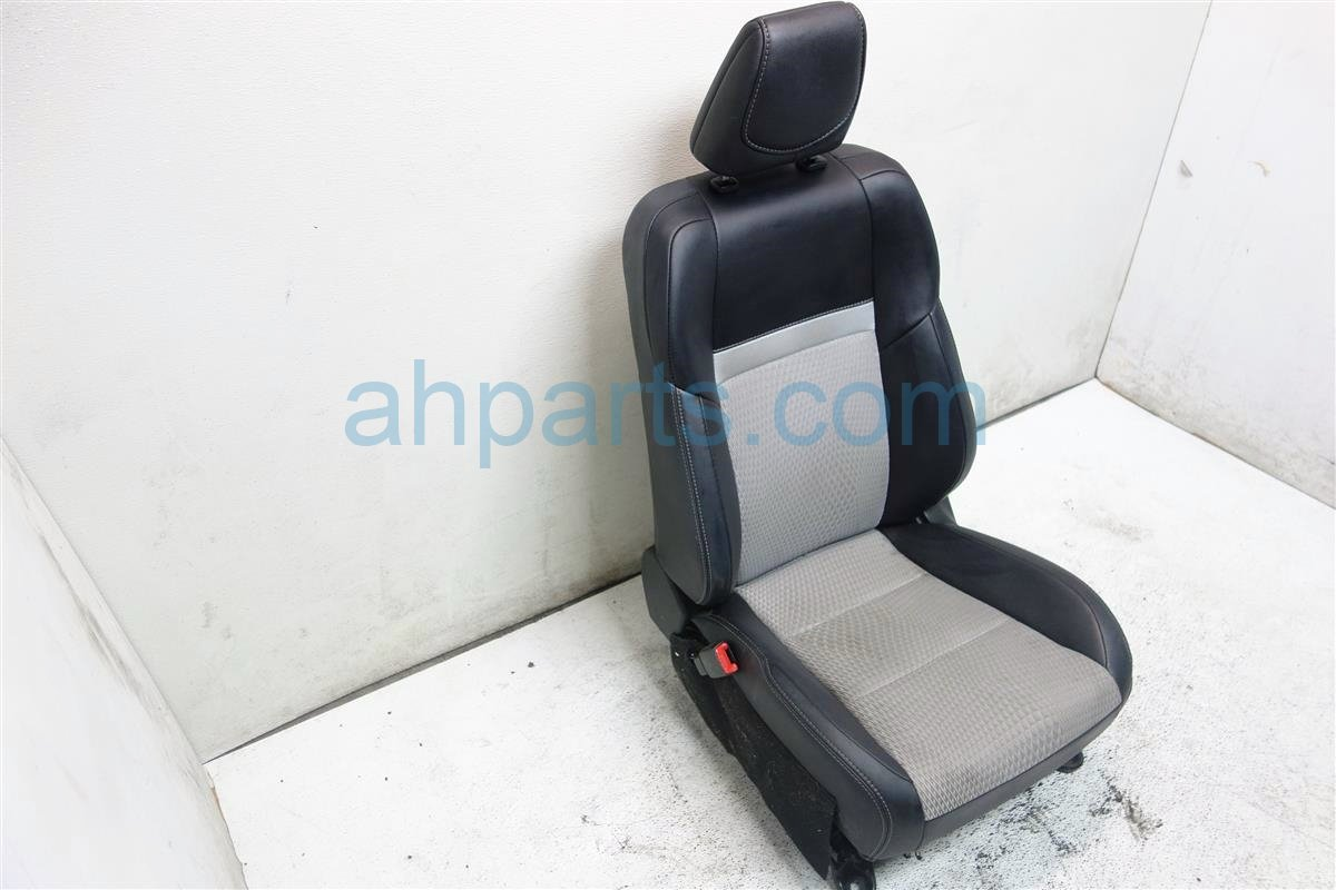 2012 Toyota Camry Front driver SEAT black gray Replacement