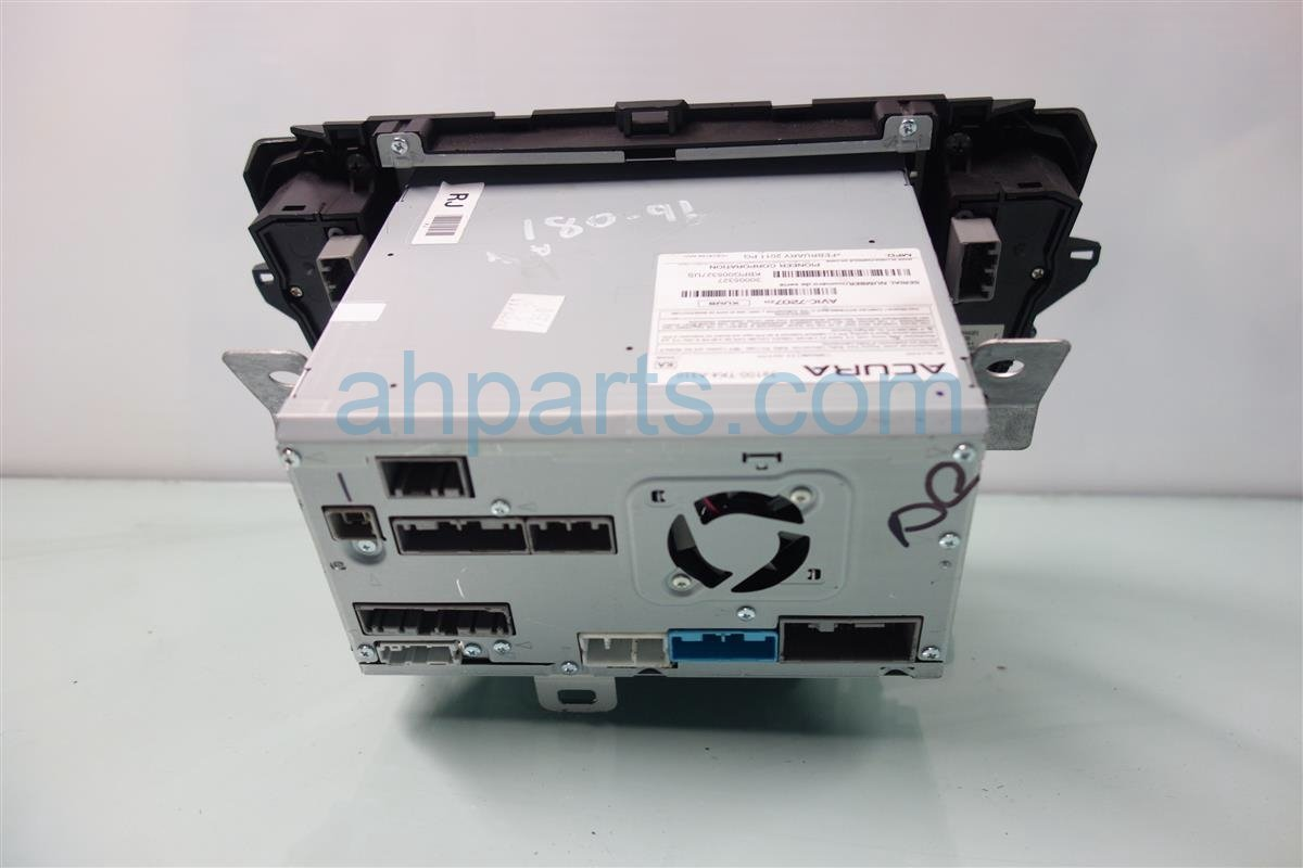 2012 Acura TL AM FM 6 DISC CD RADIO navi model 39100 TK4 309ZA 39100TK4309ZA Replacement