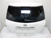 2011 Toyota Highlander Deck Lid LIFTGATE DOOR TRUNK HATCH WHITE Replacement