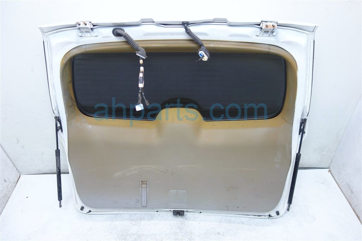 2011 Toyota Highlander Deck Lid LIFTGATE DOOR TRUNK HATCH WHITE Replacement
