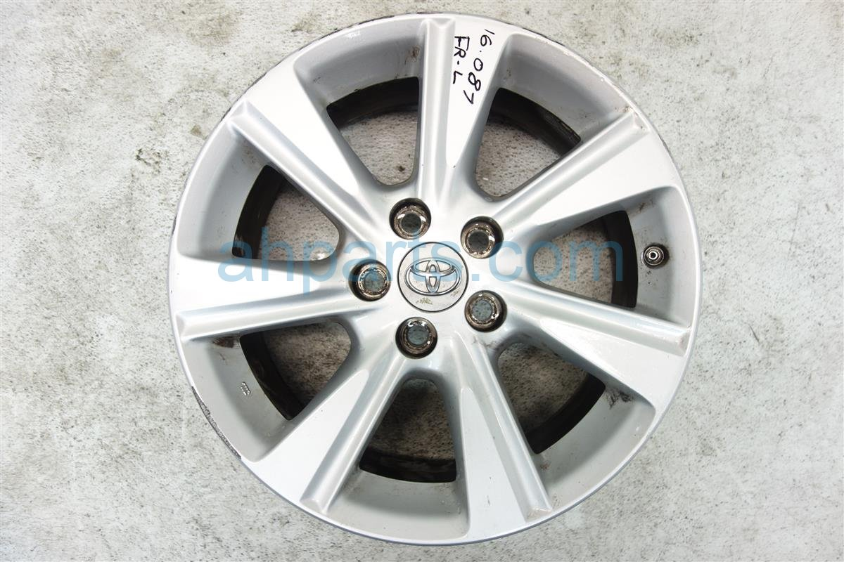 2011 Toyota Highlander Front driver WHEEL RIM 17 7 spoke 42611 0E190 426110E190 Replacement