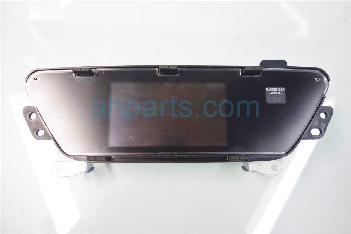 2014 Honda CR V UPPER DISPLAY SCREEN NAVI MODEL 39542 T0A A12 39542T0AA12 Replacement