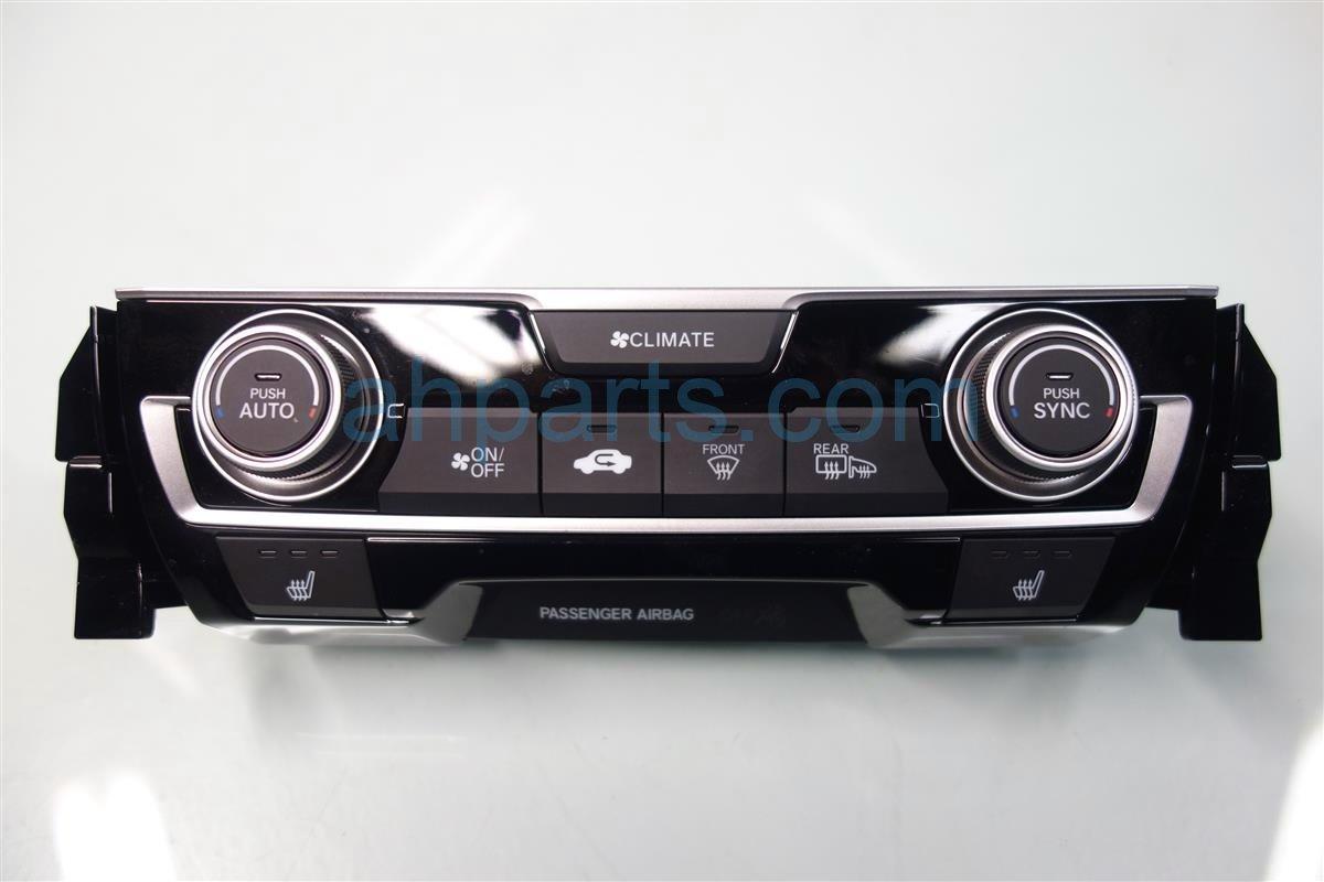 2016 Honda Civic Temperature Climate HEATER AC CONTROL ON DASH 79602 TBA A61ZA 79602TBAA61ZA Replacement