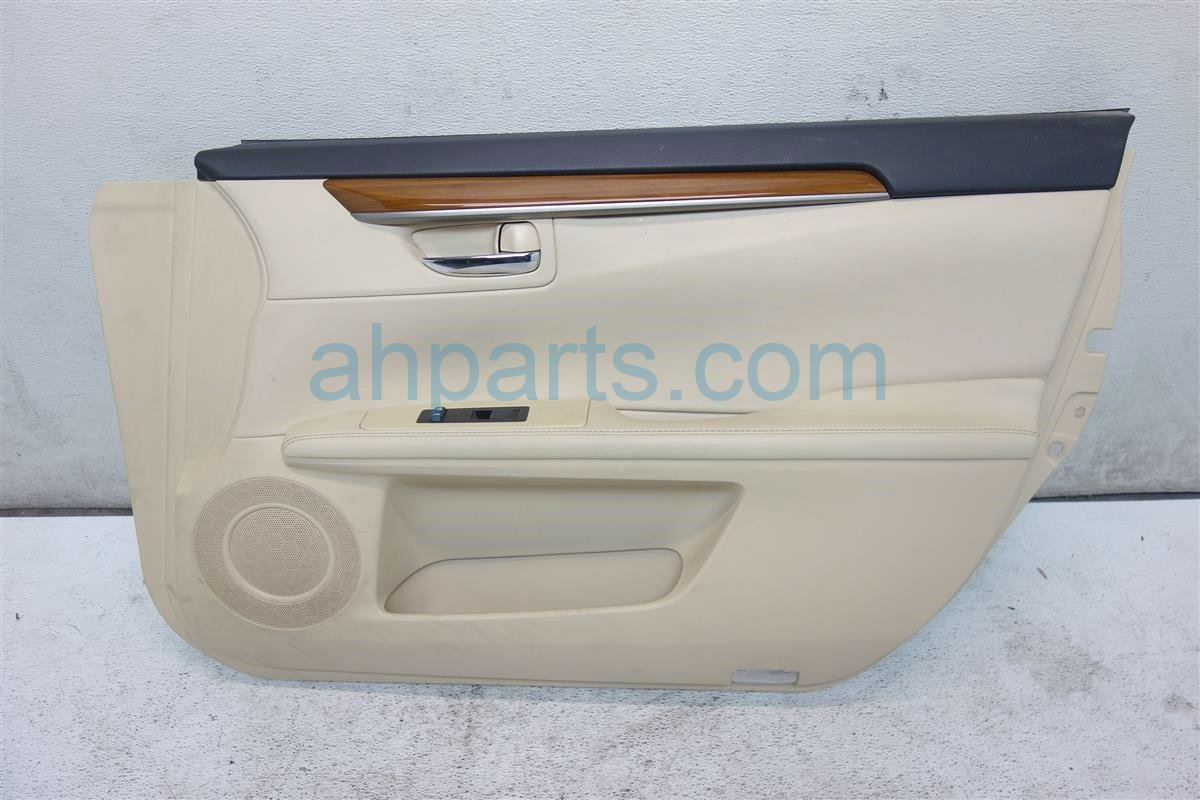 2013 Lexus Es300h Front passenger DOOR PANEL TRIM LINER TAN Replacement