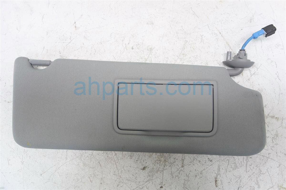 2014 Acura MDX Passenger SUN VISOR GRAY 83230 TZ5 A01 83230TZ5A01 Replacement
