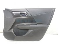 $99 Honda FR/R DOOR PANEL (TRIM LINER) black