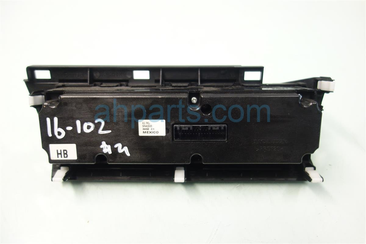 2012 Honda Civic Temperature Climate HEATER AC CONTROL ON DASH 79500 TR0 A11ZH 79500TR0A11ZH Replacement