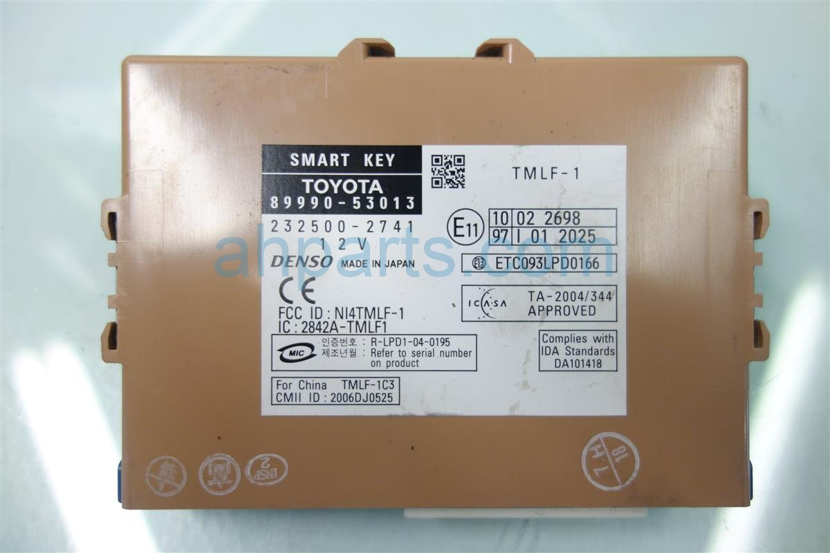 2007 Lexus Is 250 LOCK MODULE 89990 53230 8999053230 Replacement