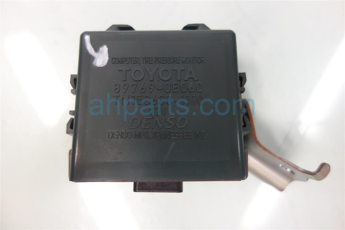 2011 Toyota Highlander TPMS MODULE 89769 0E060 897690E060 Replacement