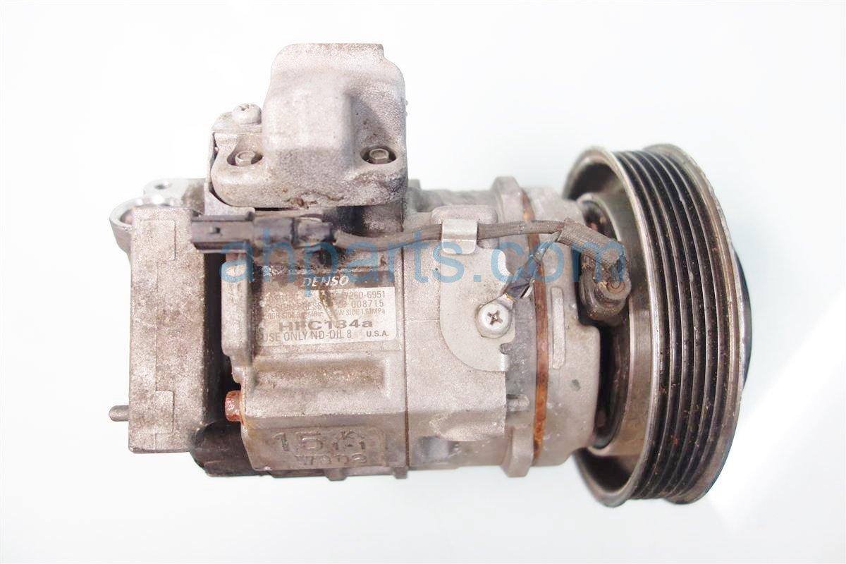 2013 Acura RDX Air pump clutch AC COMPRESSOR BENT 38810 R70 A01 38810R70A01 Replacement