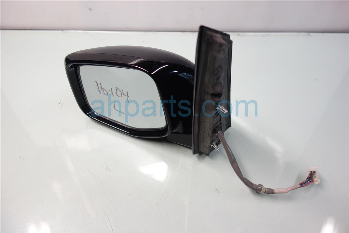 2011 Honda Odyssey Driver SIDE REAR VIEW MIRROR 76250 TK8 A31ZA 76250TK8A31ZA Replacement