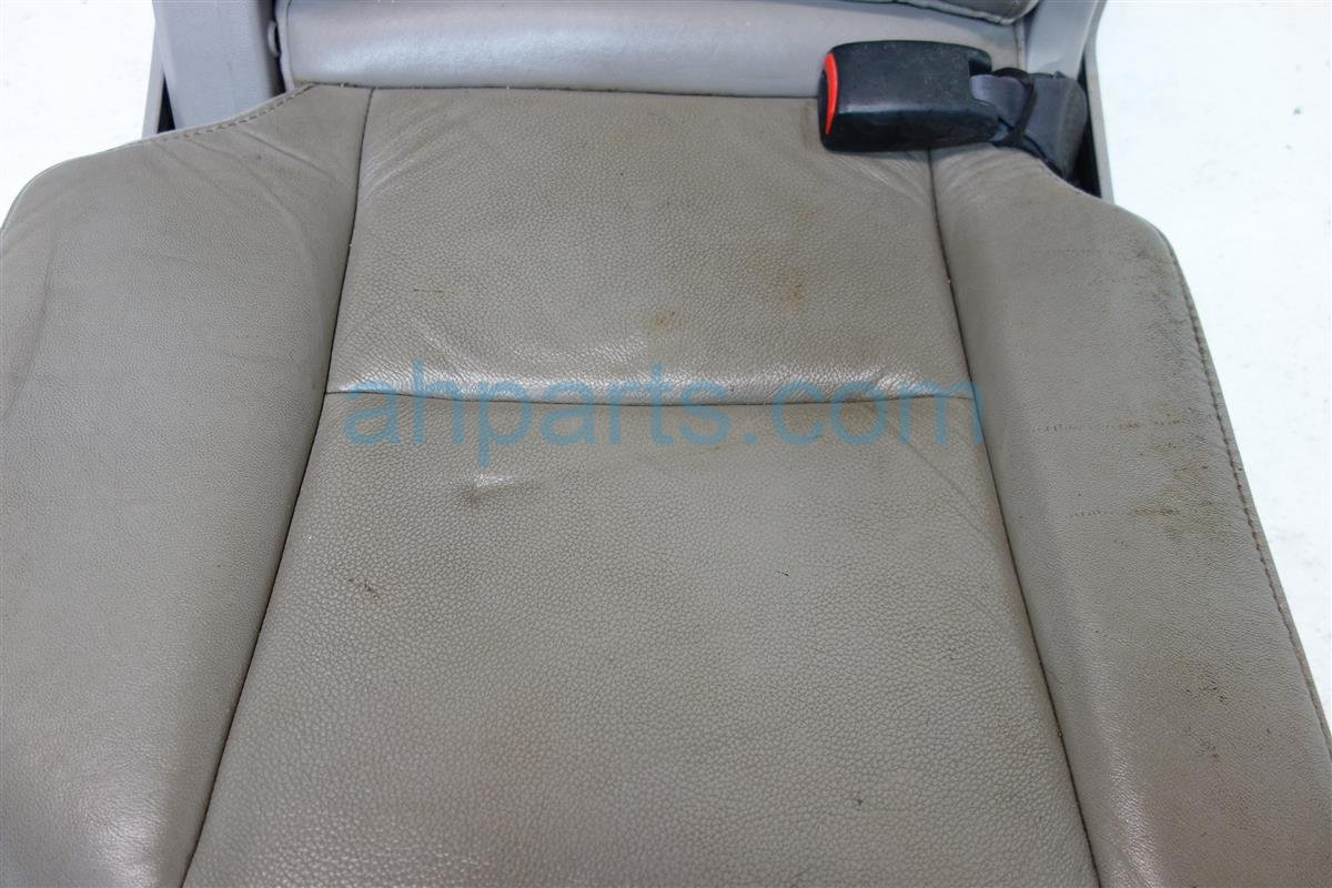 2011 Honda Pilot Rear back 2nd row 2ND ROW Passenger SEAT GRAY LEATHER Replacement
