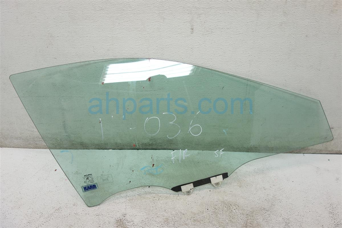 2007 Acura TL Window Front passenger DOOR GLASS 73300 SEP A20 73300SEPA20 Replacement