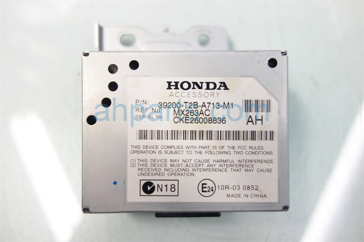 2013 Honda Accord ACTIVE NOISE CONTROL UNIT 39200 T2B A71 39200T2BA71 Replacement