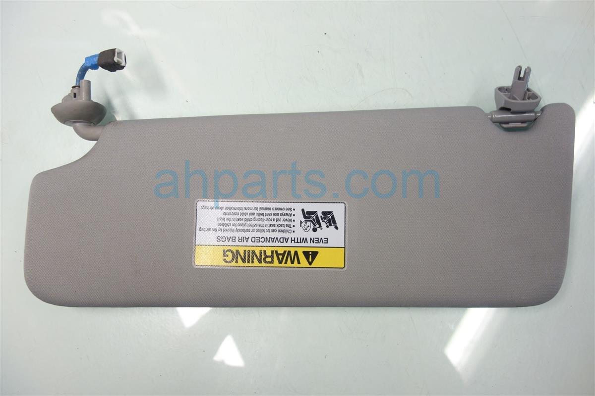 2014 Acura MDX Passenger SUN VISOR GRAY 83230 TZ5 A01ZB 83230TZ5A01ZB Replacement