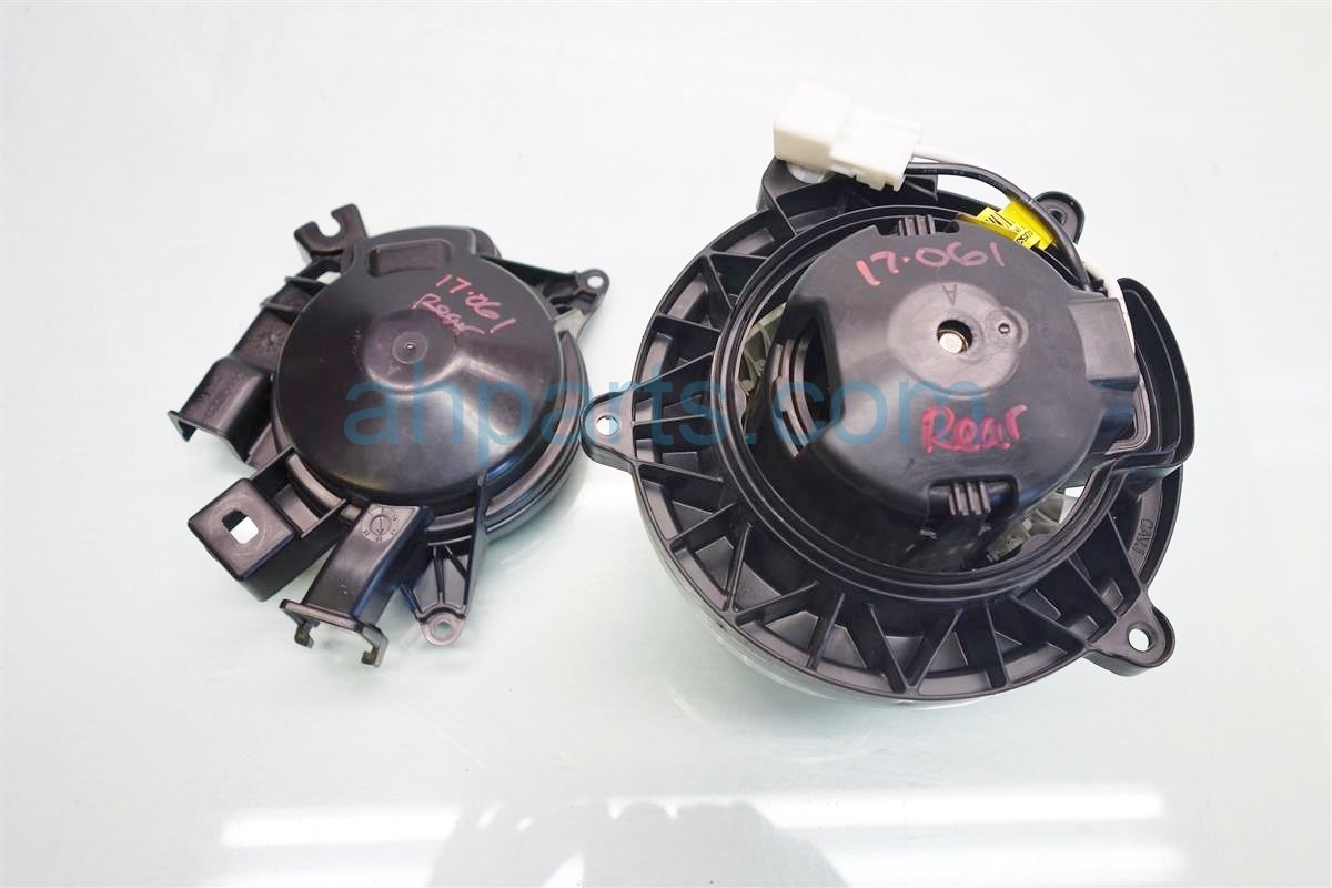 2015 Acura MDX Air REAR BLOWER MOTOR Replacement