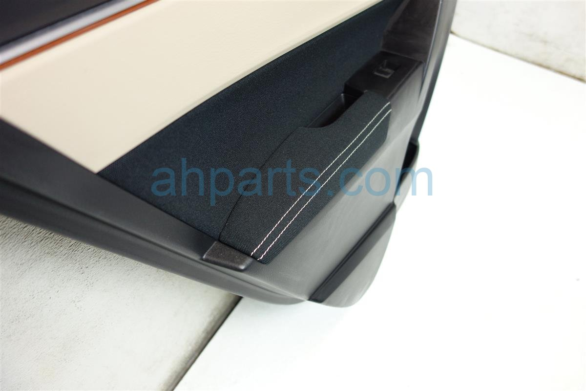 2015 Toyota Corolla Trim Rear driver DOOR PANEL LINER BLACK TAN 67640 02R01 20 6764002R0120 Replacement