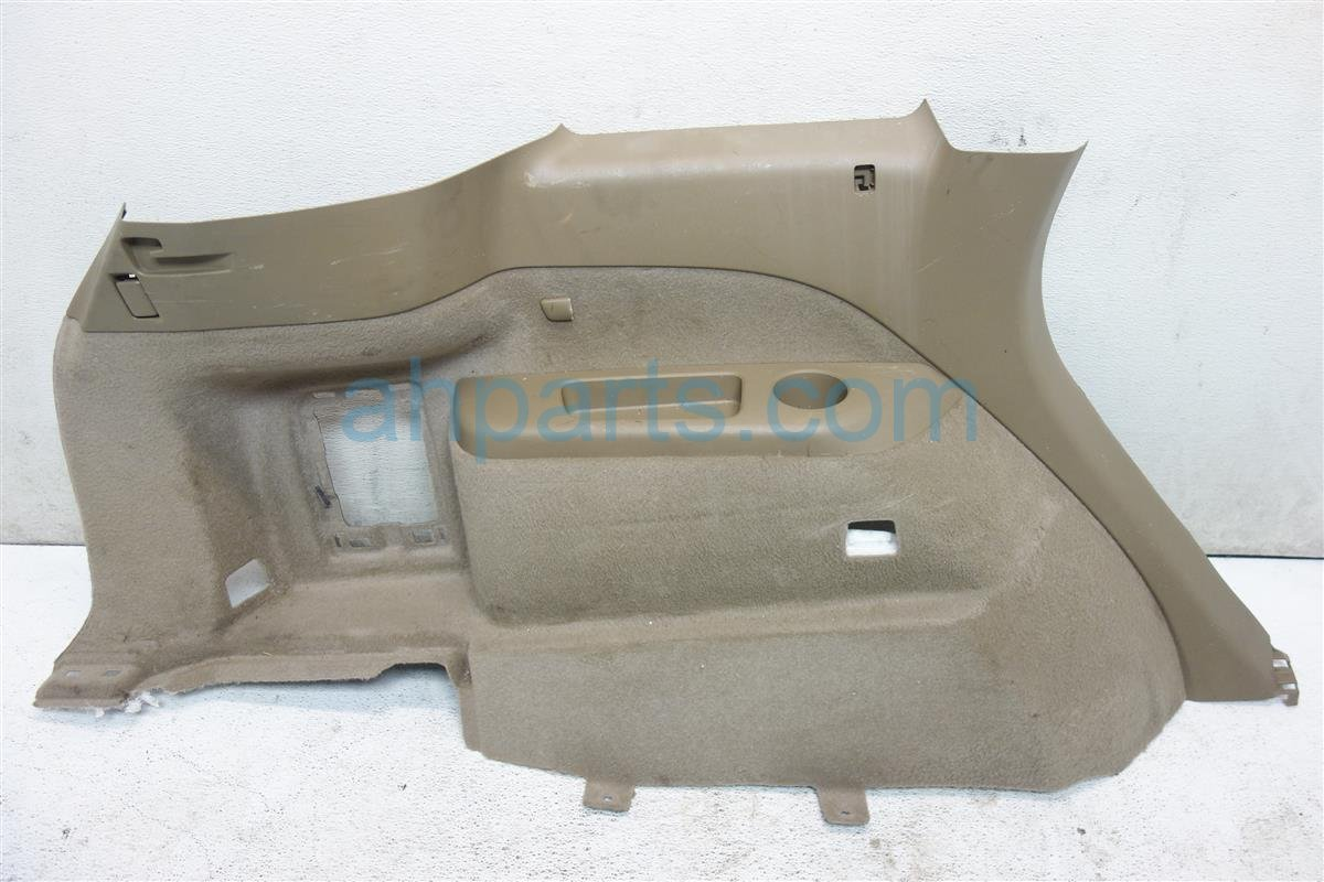 2010 Acura MDX Quarter Driver INTERIOR QURATER PANEL TRIM TAN 84650 STX A12 84650STXA12 Replacement