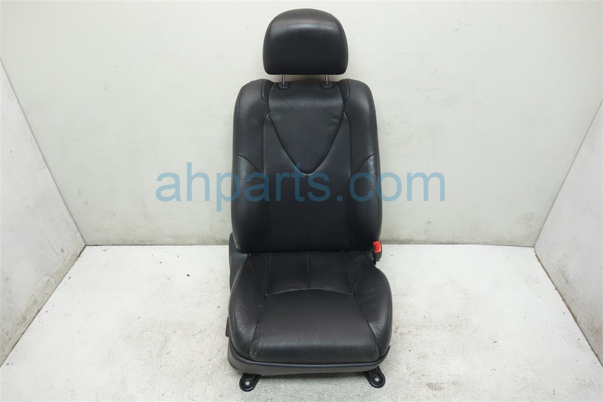 2010 Toyota Camry Front passenger SEAT BLACK LEATHER Replacement