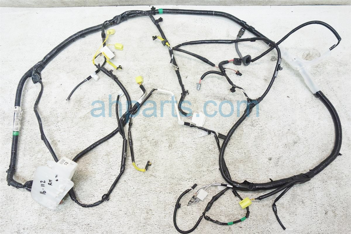 2015 Toyota Highlander FLOOR WIRE HARNESS 82161 0EB10 821610EB10 Replacement