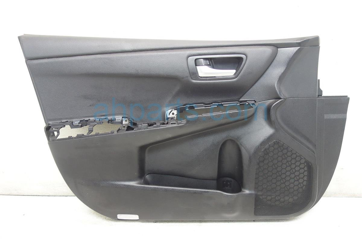 2016 Toyota Camry Front driver DOOR PANEL TRIM LINER BLACK Replacement