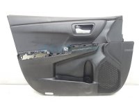 $165 Toyota FR/L DOOR PANEL TRIM LINER - BLACK
