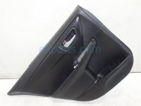 $120 Toyota RR/L DOOR PANEL (TRIM LINER) BLACK