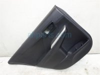 2013 Toyota Camry Trim Rear driver DOOR PANEL LINER BLACK SE Replacement