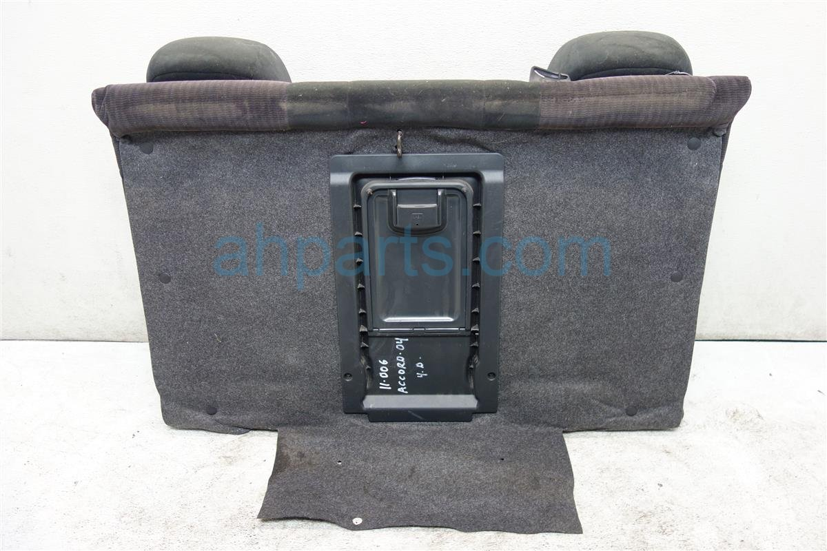 2004 Honda Accord Back 2nd row REAR SEAT UPPER PORTION BLACK CLOTH 82127 SDC A11 82127SDCA11 Replacement